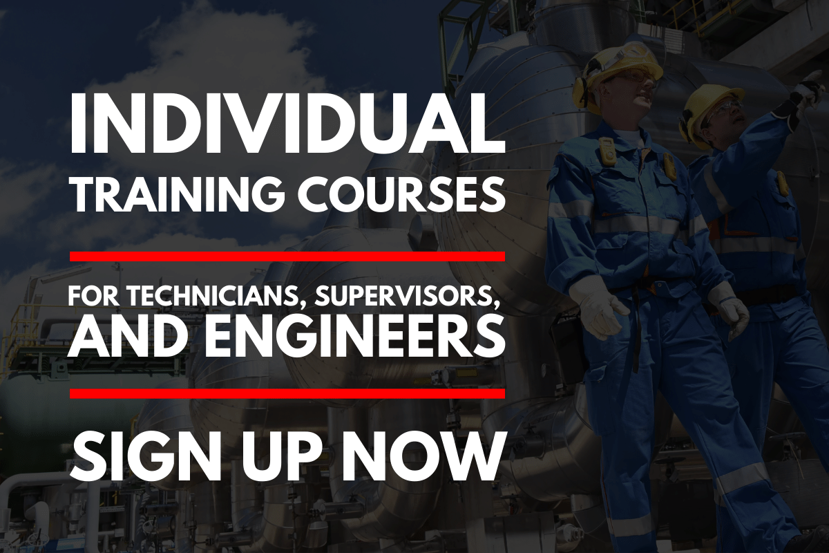 training courses for engineers rotating equipment